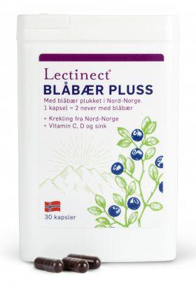 Lectinect Blåbær Pluss