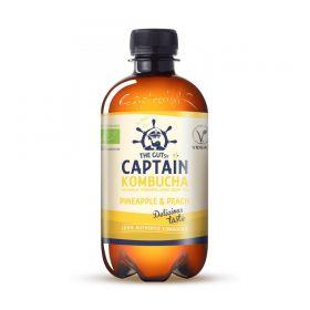 Captain Kombucha Pineapple Peach 400 ml