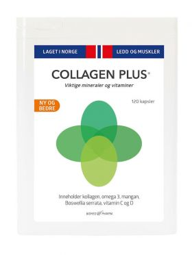 Collagen Plus - 120 kapsler