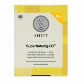 Shift SuperNaturlig-D3 40 µg