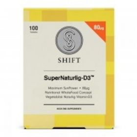 Shift SuperNaturlig-D3 80 µg