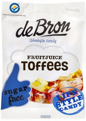 De Bron Fruitjuice Toffee