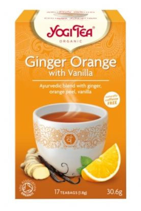 Yogi Te ingefær appelsin vanilje