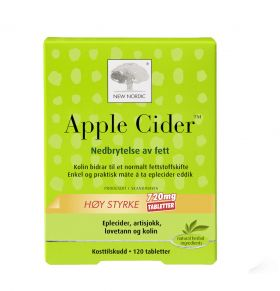 Apple Cider 120 tabletter