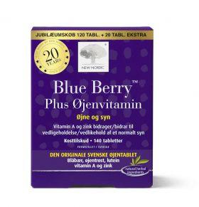 Blue Berry Original bonuspakn. 120 + 20 tabl.