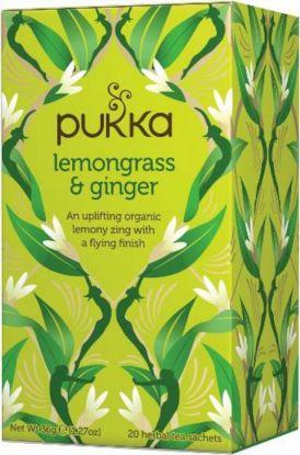 Pukka Lemongrass & ginger te