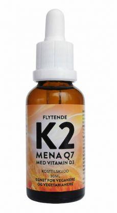Flytende K2 med D3 30 ml