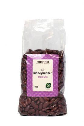 Manna Røde kidneybønner 500 gr
