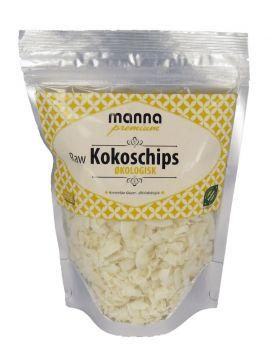 Manna Kokoschips raw 200 gr