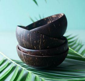 Kokosnøttskål Stor Polert