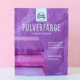Fruityfriendly Pulverfarge lilla