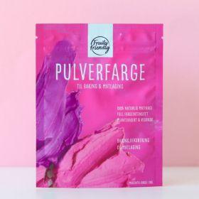 Fruityfriendly Pulverfarge magenta