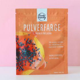 Fruityfriendly Pulverfarge oransje