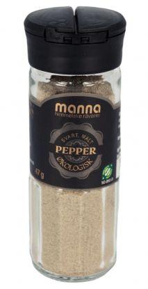 Manna Pepper, malt, økologisk 47 gr