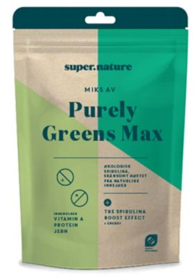 Supernature Purely Greens Max 90 gr