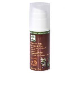 BIOselect Sunmilk Face & body SPF 15 100 ml