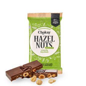 Chokay hasselnøtter med melkesjokolade