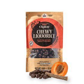 Chokay Premium myk lakris med aprikos og mørk sjokolade