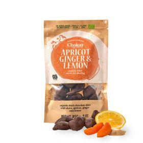 Chokay Økologisk mørk sjokolade med daddel, aprikos, ingerfær og sitron