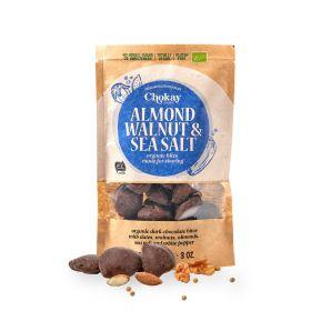 Chokay Økologisk mørk sjokolade med mandel, valnøtter og sjøsalt