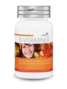 Vitamin B - 90 tabletter