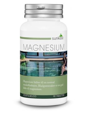 Magnesium - 90 tabletter