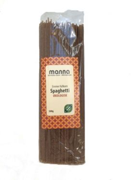 Pasta, Emmer-spaghetti, fullkorn