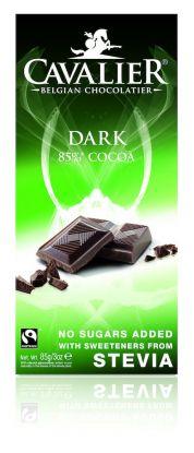 Cavalier Plate mørk 85% stevia