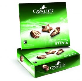 Cavalier melk seashell 130g stevia