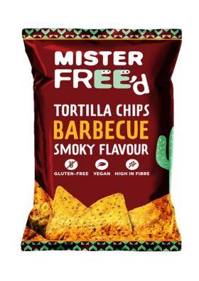Mister Free'd tortilla chips BBQ