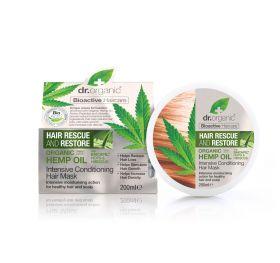 Dr.Organic Rescue hair mask thicker hair 200 ml