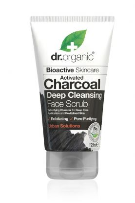 Dr. Organic Charcoal face scrub 125 ml