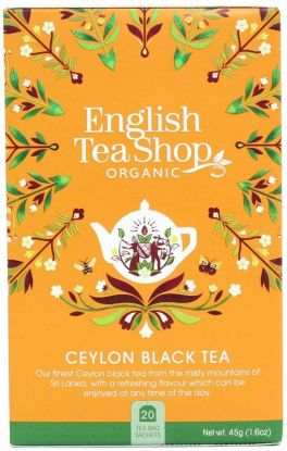English Tea Shop Ceylon svart te 20 stk