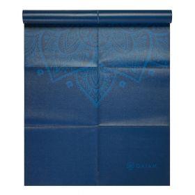 Gaiam Foldable Yoga Mat Blue 2mm