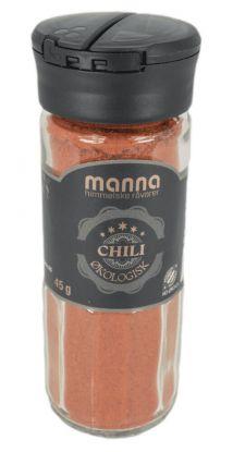 Manna Chili, malt, økologisk 45 gr