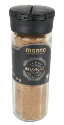 Manna Muskat,malt, økologisk 45 gr