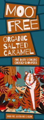 Moo Free Premium Bar Seasalt & Caramel