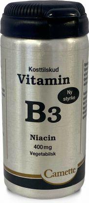 Camette Vitamin B3 Niacin 400 mg