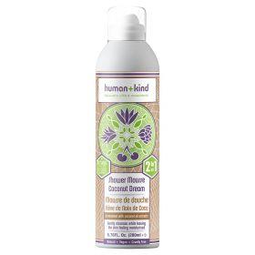 Human+Kind Shower Mousse Coconut Dream 200 ml