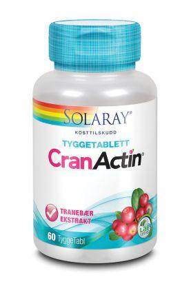 Solaray CranActin Tyggetabletter