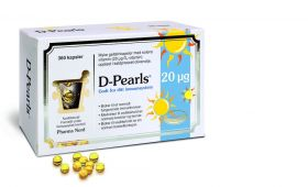D-Pearls 20 µg 360 kapsler