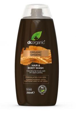 Dr. Organic Ginseng Body Wash 250 ml