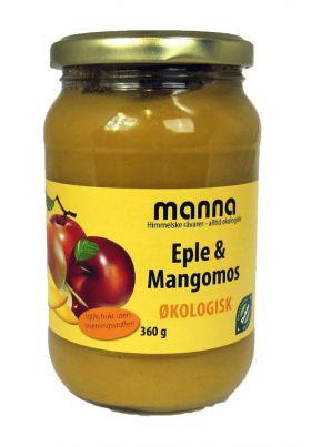 Eple- og mangopuré u/sukker