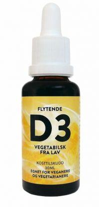 Flytende vegansk D3 - 30 ml