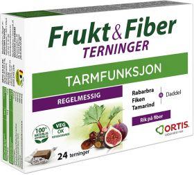 Frukt & Fiber terninger