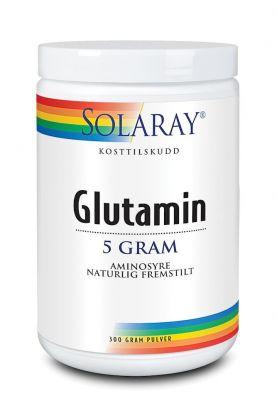Solaray Glutamin pulver