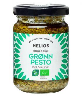 Helios grønn pesto økologisk 130 gr