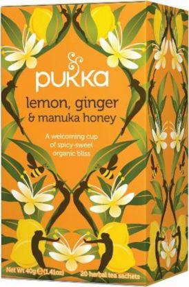 Pukka Lemon ginger & manuka honey
