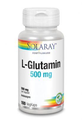 Solaray L-Glutamin 500 mg