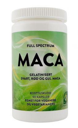 Full Spectrum Maca 90 kapsler